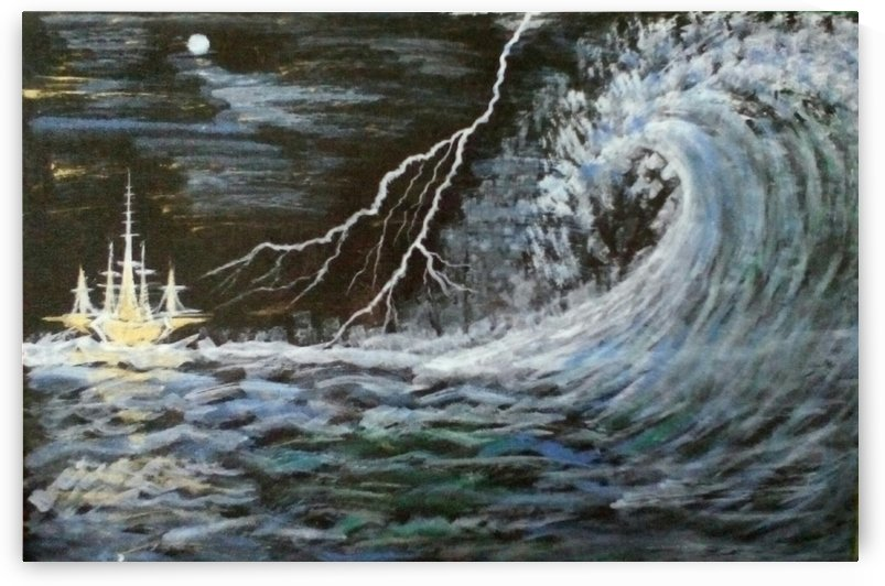 thunder waves by Raja Hussain