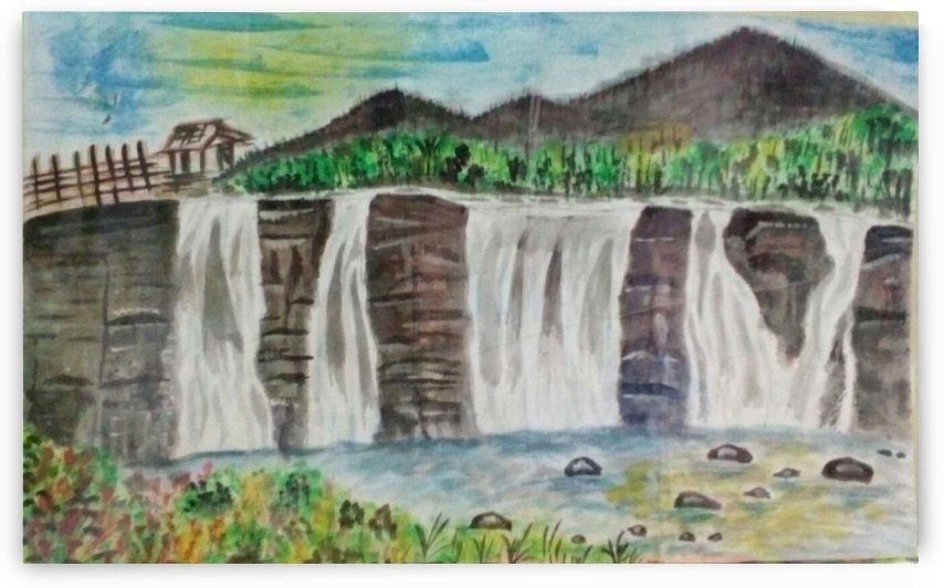 athirappally falls - kerala by Raja Hussain