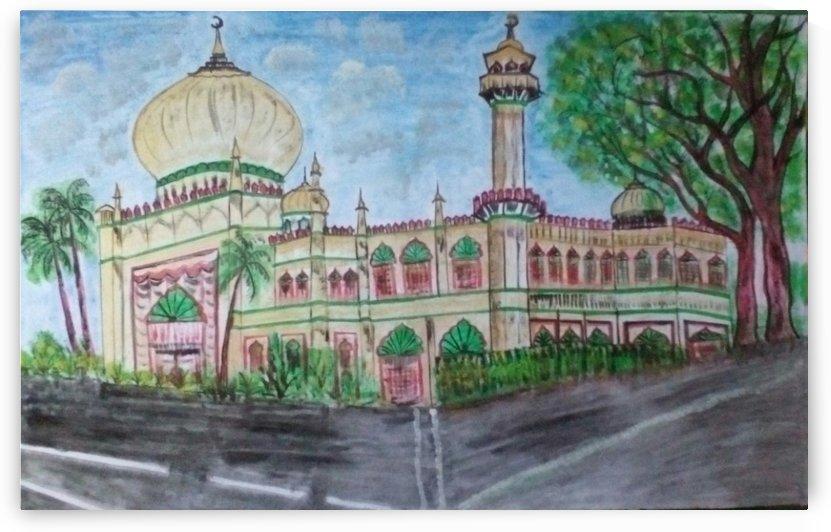 Sultan Masjid - Singapore by Raja Hussain