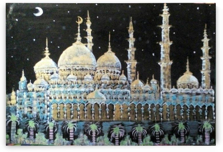 sheik seyad masjid by Raja Hussain