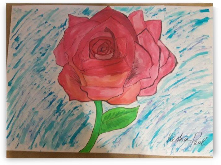 Blooming flower by Kesha