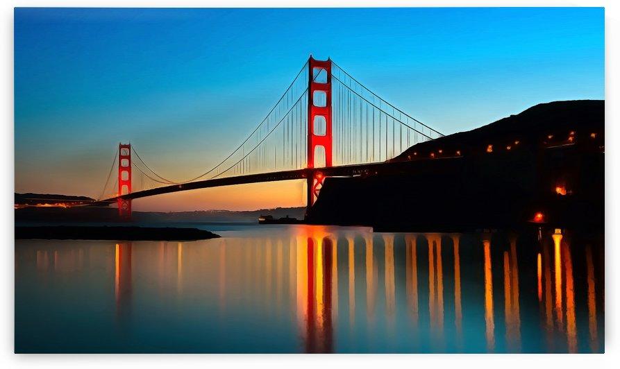 San Fran Bridge by Richard D. Jungst