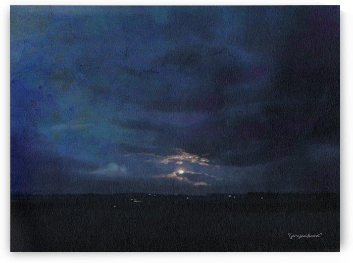 Dark deep blue by Georgina Vincent