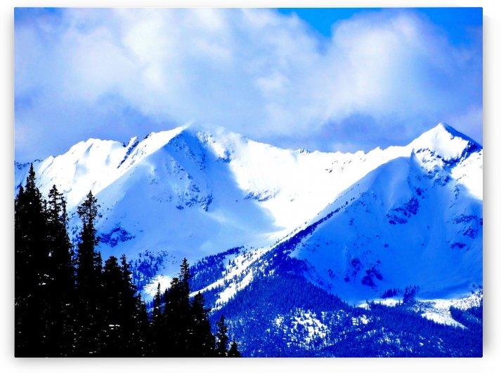 Winter Mountain View by Richard D. Jungst