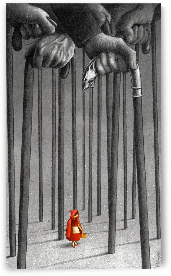 red hood  by Pawel Kuczynski