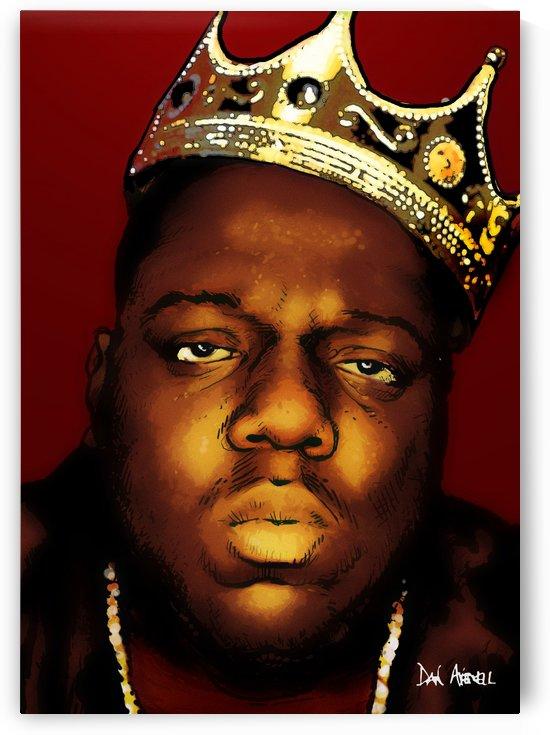 Biggie Smalls aka Notorious B.I.G by Dan  Avenell