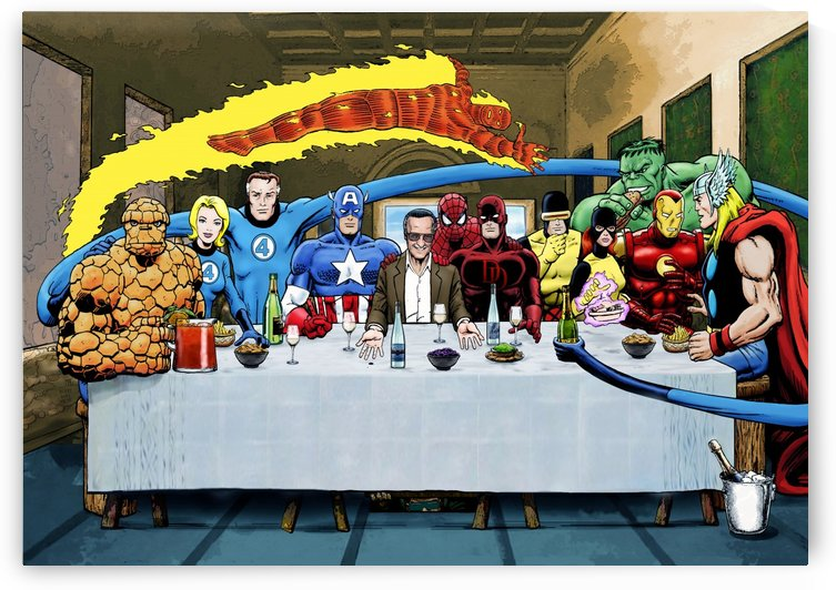 Marvel Superheroes: Stan Lee's Super Supper with Avengers, Fantastic Four, X-Men, Spider-Man & More by Dan  Avenell