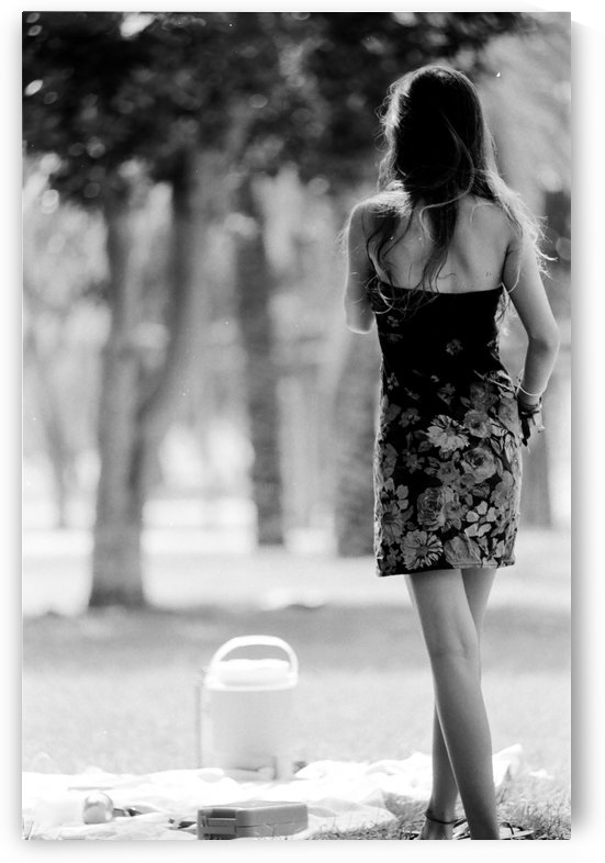 Standing alone by Ran Bracha