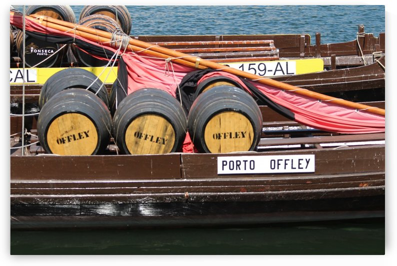Oporto Wine Barrels  by baldaciara