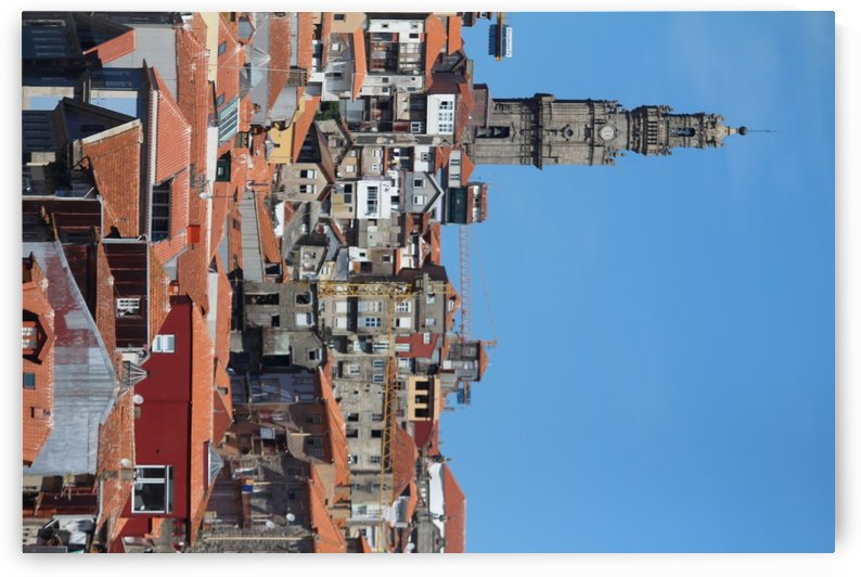 Oporto City the Clerigos Tower by baldaciara