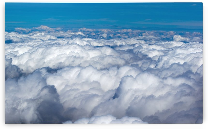 over the clouds by Babetts Bildergalerie