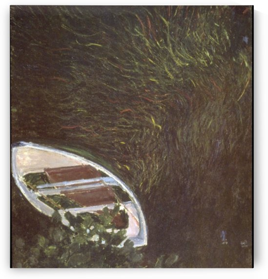 The Boat by Monet by Monet