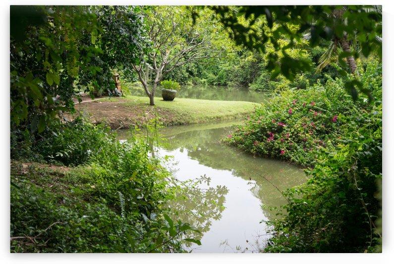 river in the garden restaurant in chainat by Babetts Bildergalerie