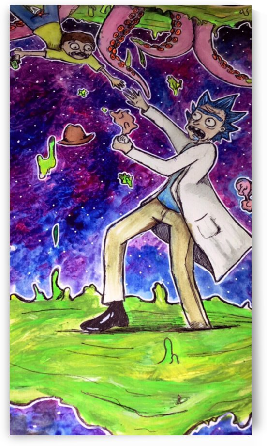 Rick and Morty Fanart by Makayla Ellis