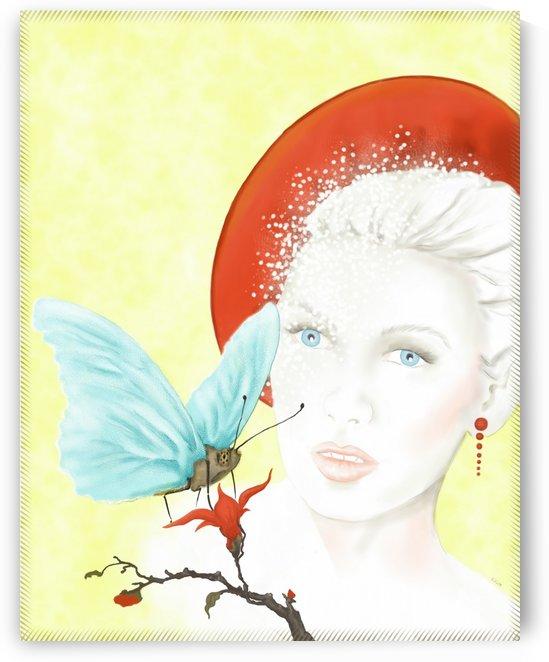Butterfly Lady by Kirsi Korhonen