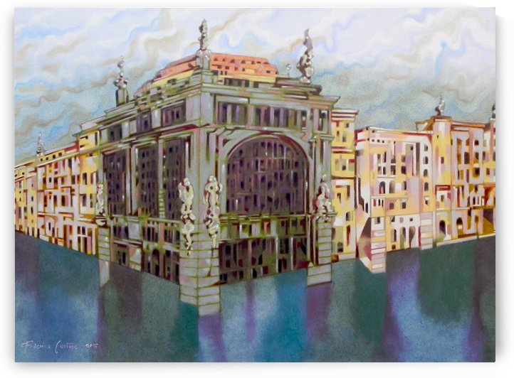 memory of Saint Peterburg, Nevskij Prospekt by federicocortese