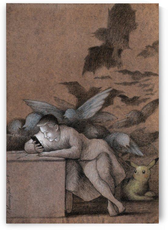 sleep of reason by Pawel Kuczynski