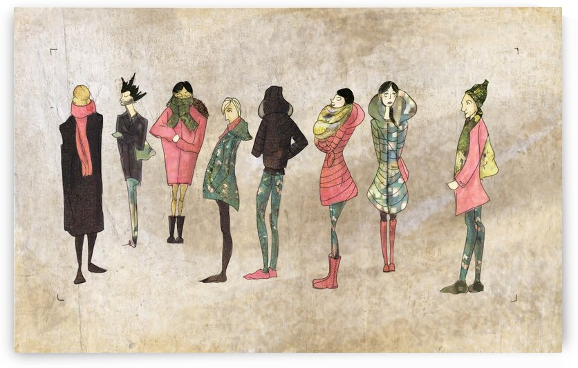 Montreal people by Madeleine Sibthorpe