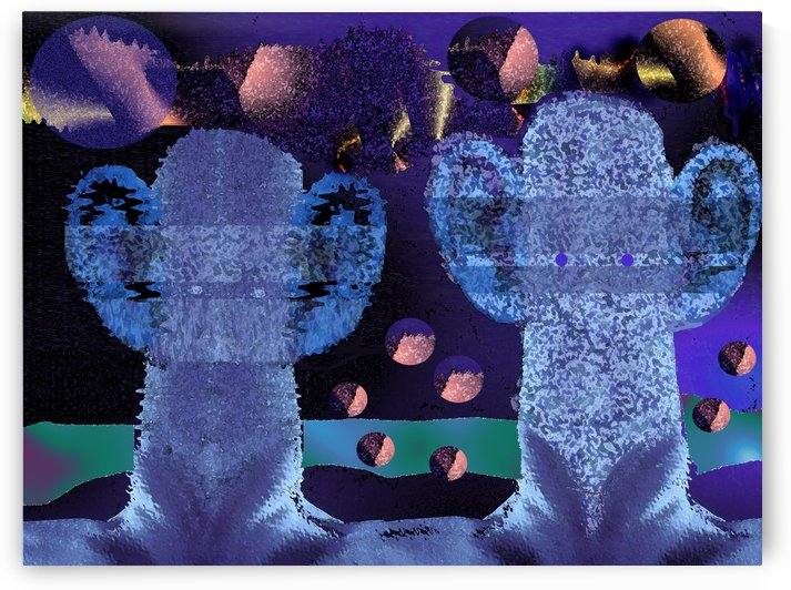 Visitors 654 by Otto Graser Visual Artist