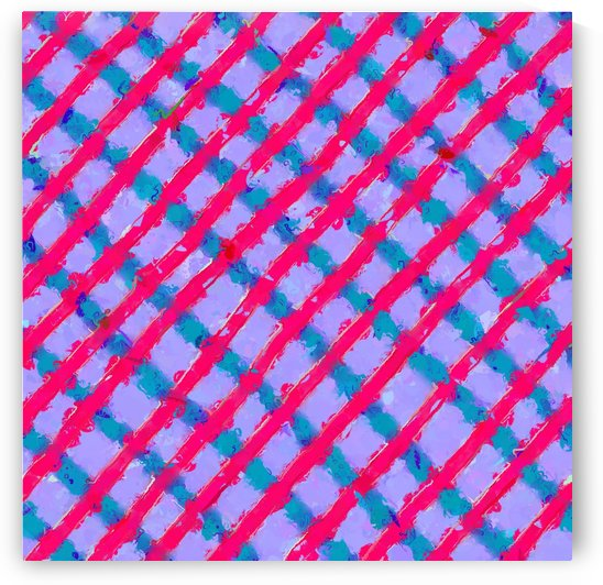 line pattern painting abstract background in red purple blue by TimmyLA