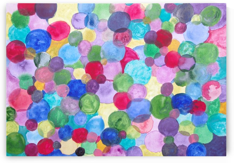 Colored Balls. by Alan Skau
