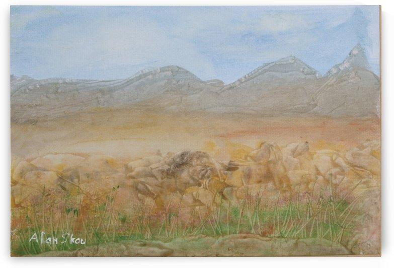 Baron Landscape. by Alan Skau