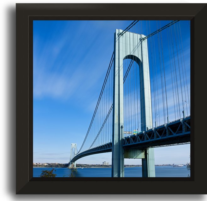 Verrazano Bridge by Victor F Rodriguez Jr
