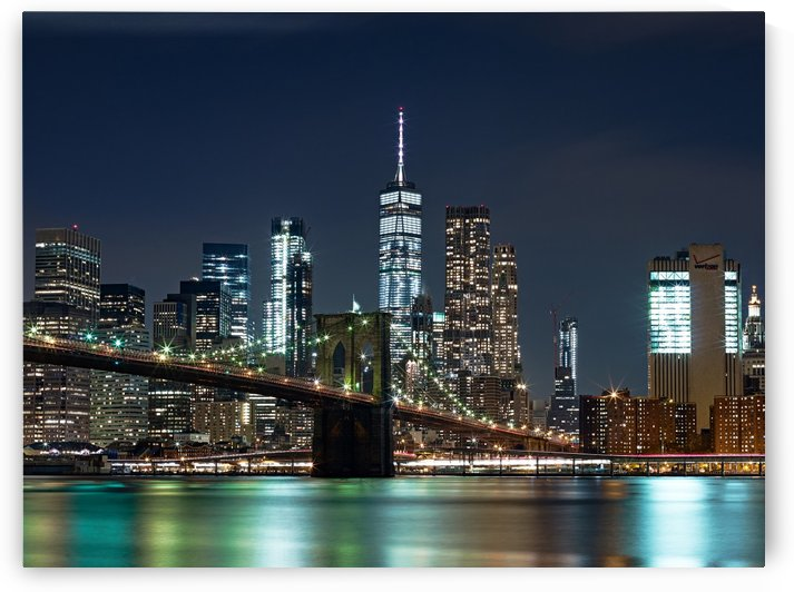 Brooklyn Bridge by Victor F Rodriguez Jr