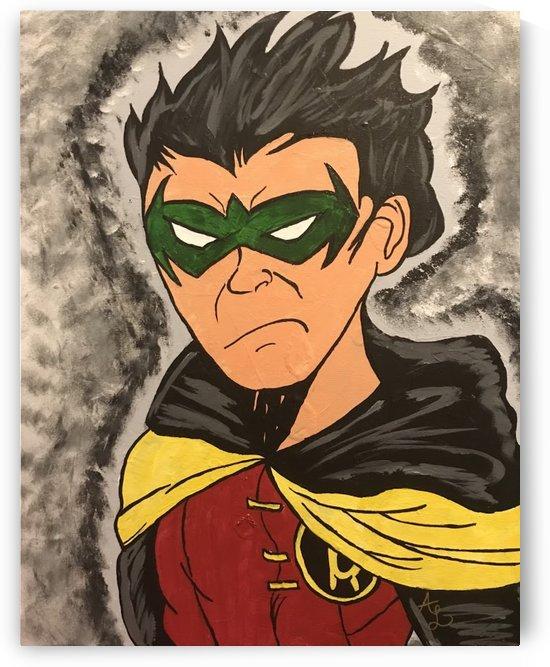 Damian Wayne by Anthony Alexander Lopez