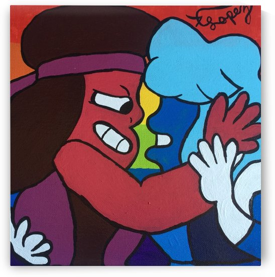 Ruby & Sapphire  by Anthony Alexander Lopez