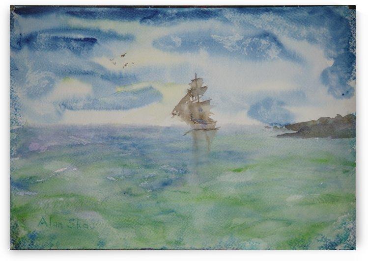 Ghost Ship. by Alan Skau