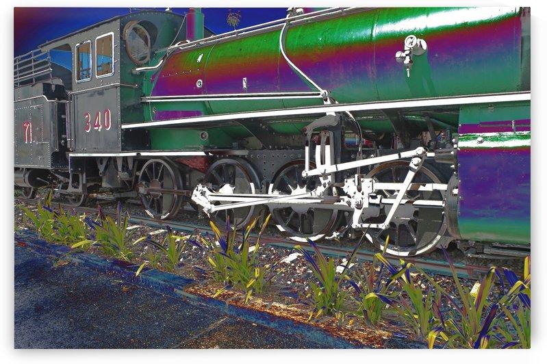 Steam Train. by Alan Skau