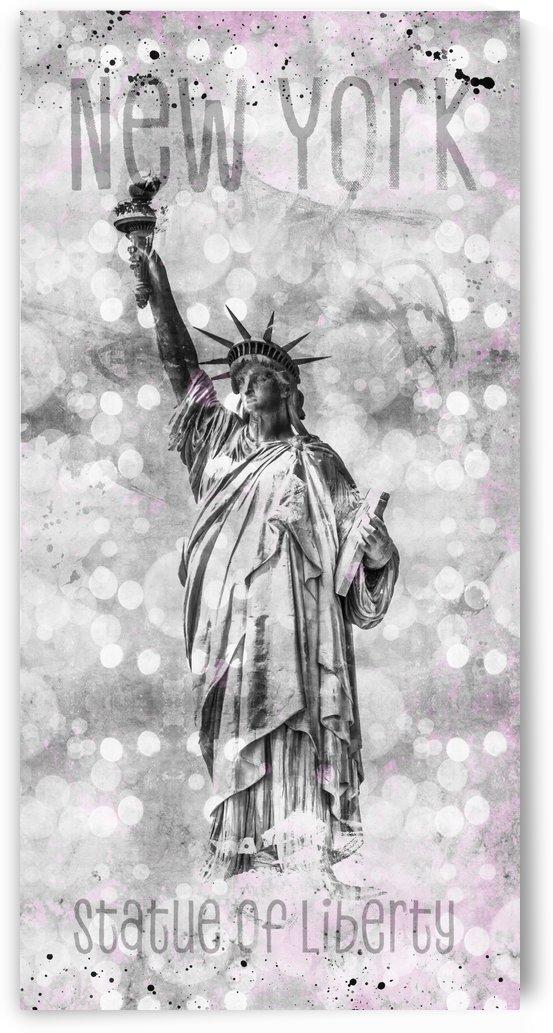 Graphic Art NEW YORK CITY Statue of Liberty by Melanie Viola