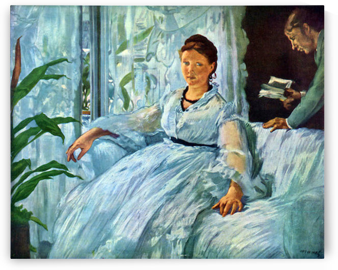 The Lecture by Manet by Manet