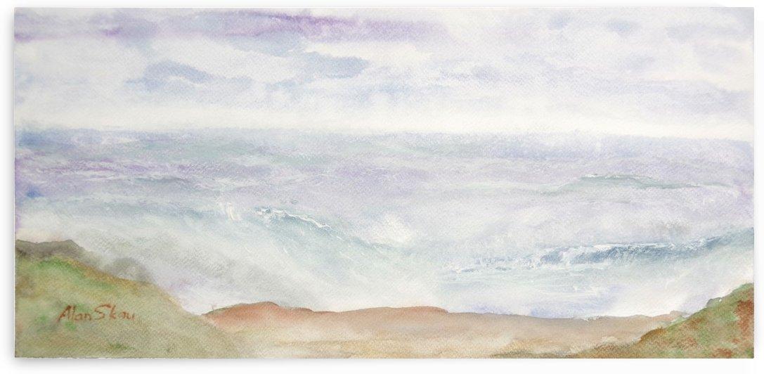 Seascape. by Alan Skau