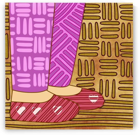 Slippers by Rosielyn Obedencio