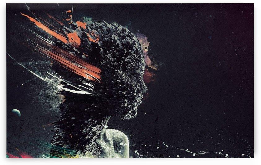 Girl Explosiion by Mark John Baring