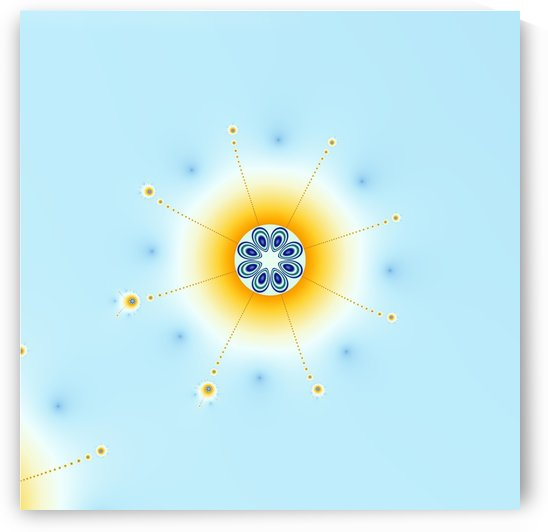 Snow flake fractal by CiddiBiri