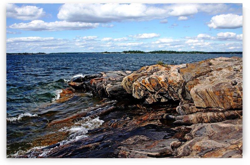 Rocky Point   Wreck Island by Deb Oppermann