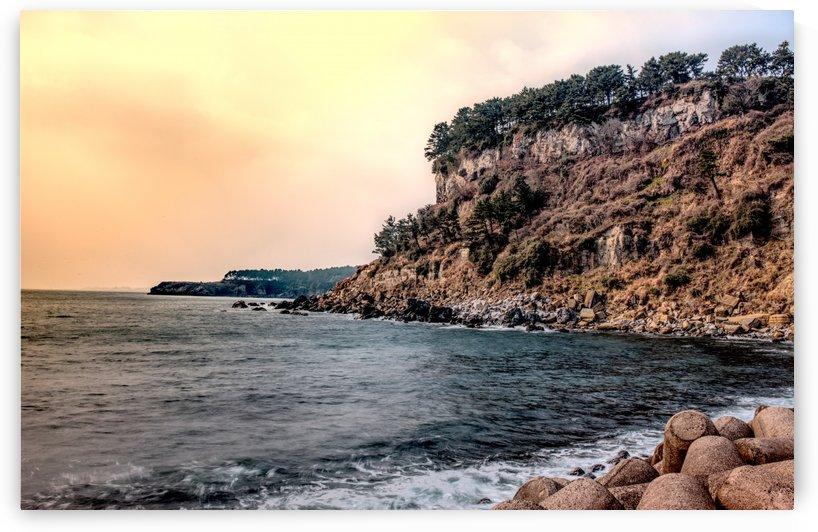 JEJU ISLAND BEACH by OPTIC CANVAS