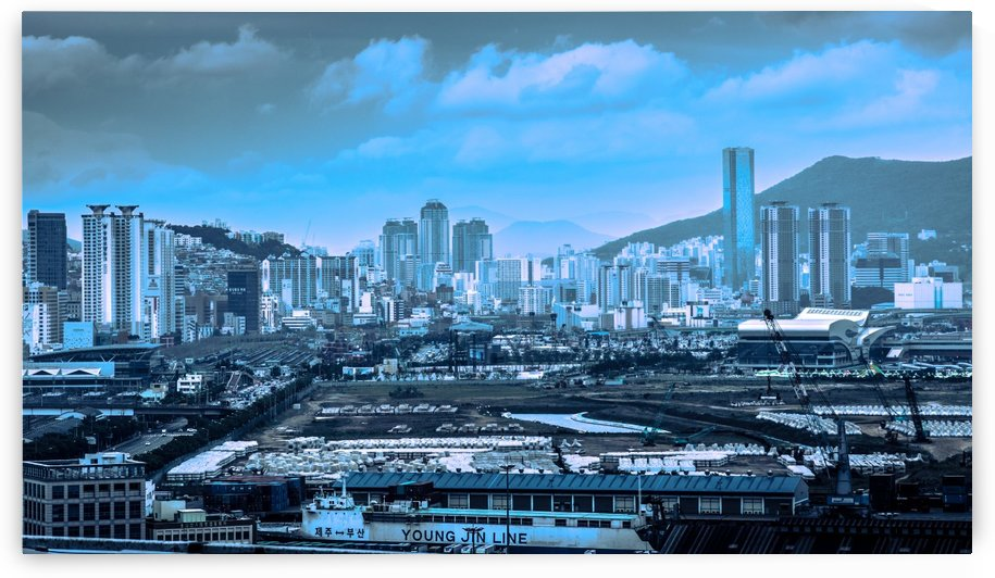 CITY OF BUSAN by OPTIC CANVAS
