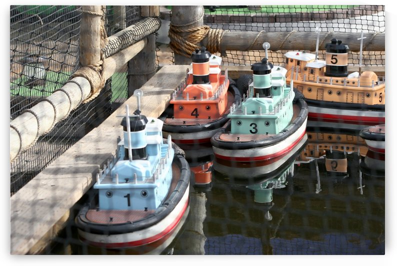 3 Toy Boats by Hold Still Photography