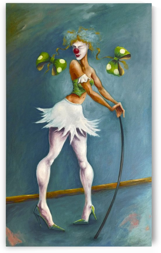Clowness by Andrey Polunin
