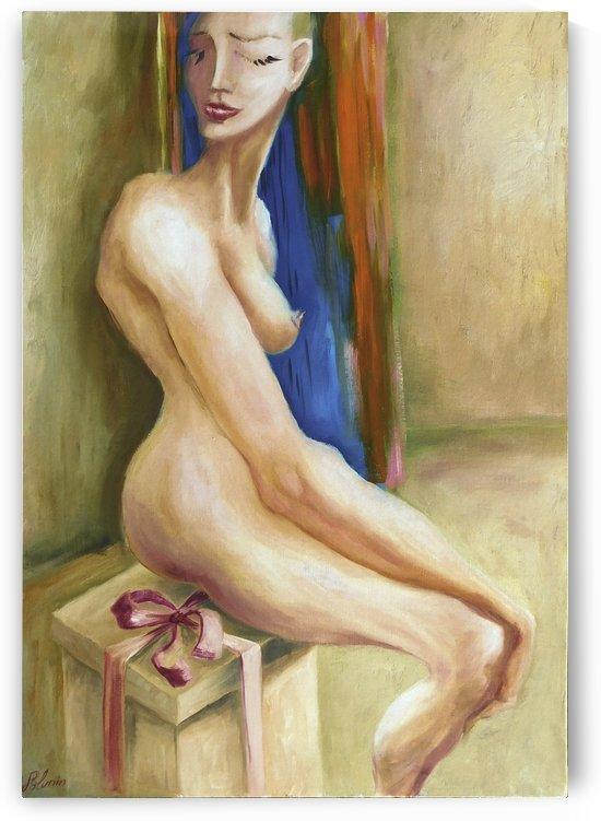 Girl with straight hair by Andrey Polunin