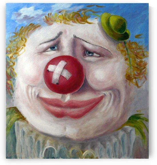 Street clown by Andrey Polunin