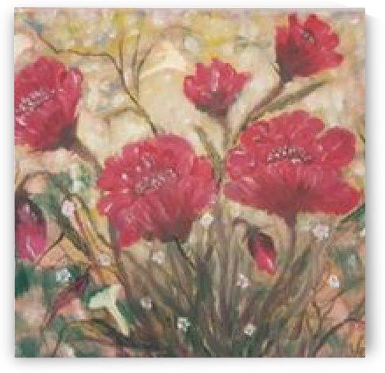 poppies by ciobanu c veronica
