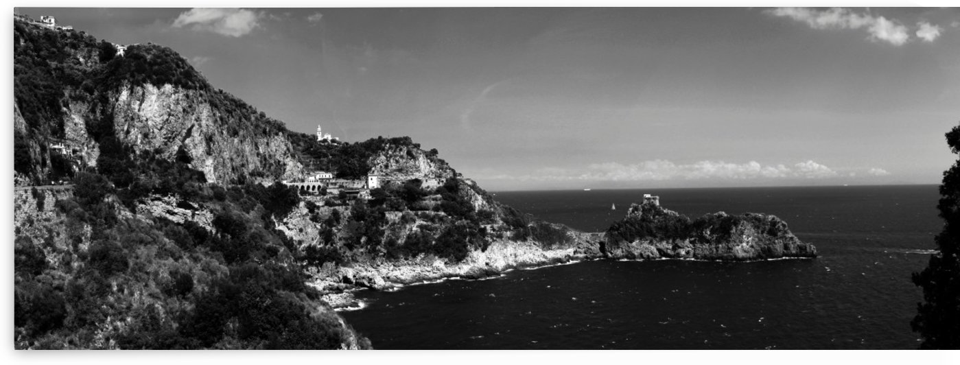 Super panoramic view Amalfi Coast - Italy by Bentivoglio Photography