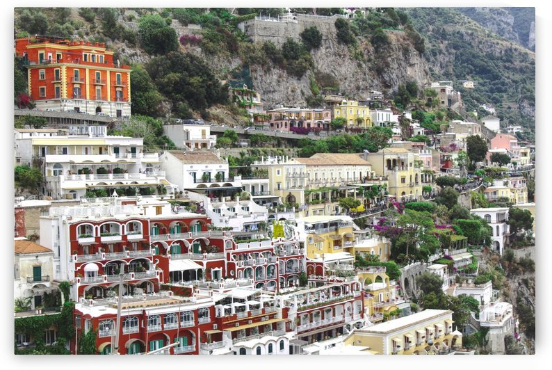 Houses at Amalfi Town - Italy by Bentivoglio Photography