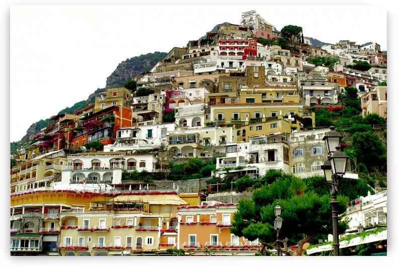 Positano Village in Amalfi Coast - Italy by Bentivoglio Photography