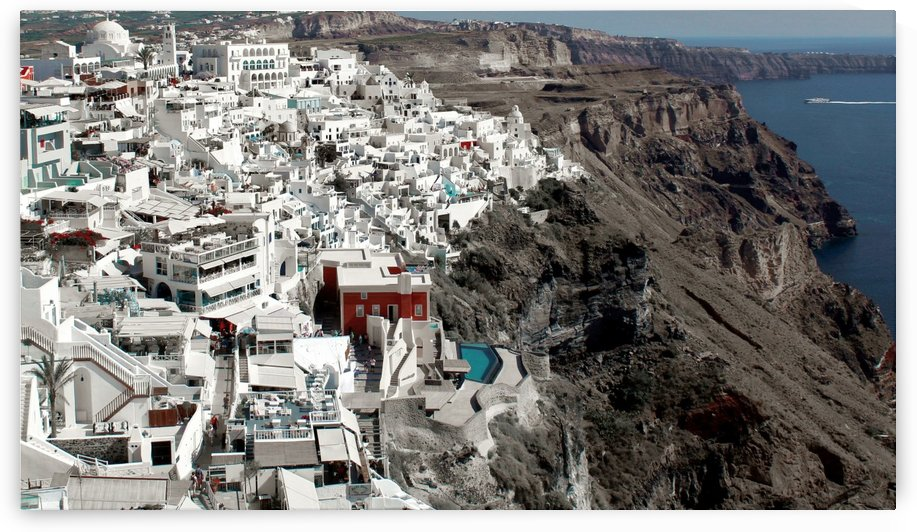 Amazing Santorini Landscape by Bentivoglio Photography